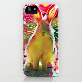 Stalker Rabbit iPhone Case