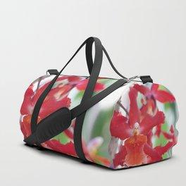 Exquisite Epidendrum Orchids Duffle Bag
