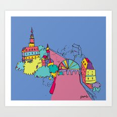 Cannel Art Print