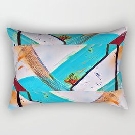 Race to the Bottom_Pyraw Rectangular Pillow