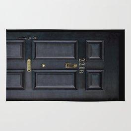 Classic Old sherlock holmes 221b door iPhone 4 4s 5 5c, ipod, ipad, tshirt, mugs and pillow case Rug