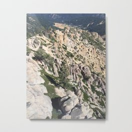 Sierra Wilderness Metal Print