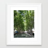 spain Framed Art Prints featuring Spain by stylebymercedes