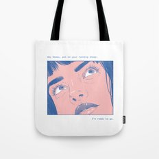 Hey Romeo Tote Bag