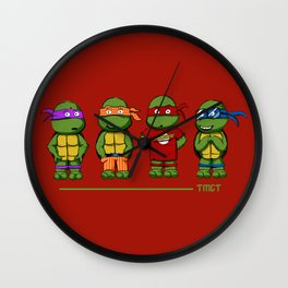 Turtle Theory Wall Clock