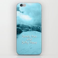Sand and Kisses iPhone & iPod Skin