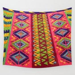Colorful Guatemalan Alfombra Wall Tapestry