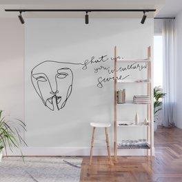 Hush Wall Mural