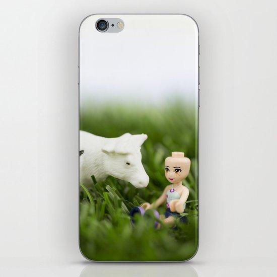 Baldy & Cow iPhone & iPod Skin