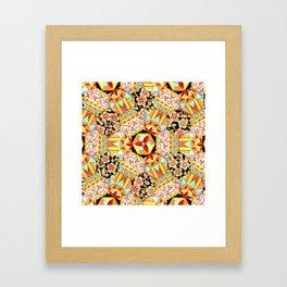 Gypsy Patchwork (printed) Framed Art Print