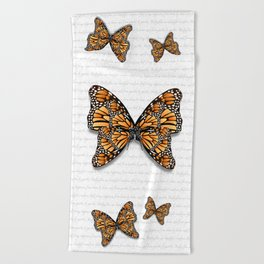 Monarch of Monarchs Beach Towel