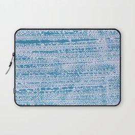 Blue Water Aqua Splash Beading Bouy Laptop Sleeve
