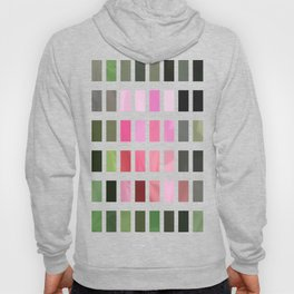 Pink Roses in Anzures 4 Abstract Rectangles 2 Hoody