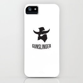 Gunslinger Cowboy iPhone Case