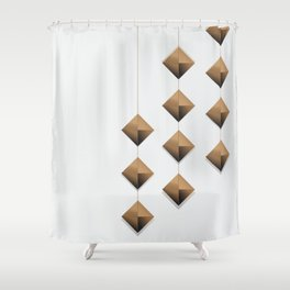 wealthy Shower Curtain