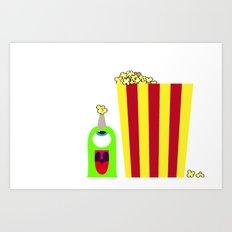 Bubol POP Art Print