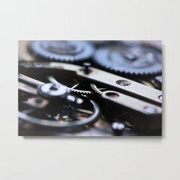 Gearwheels Metal Print