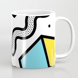 Memphis Pop-art Pattern II Coffee Mug