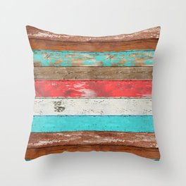 Eco Fashion 2 Throw Pillow