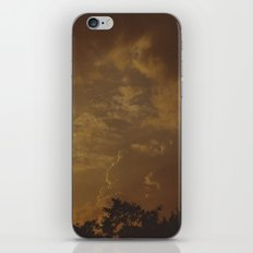 stormy skies iPhone & iPod Skin