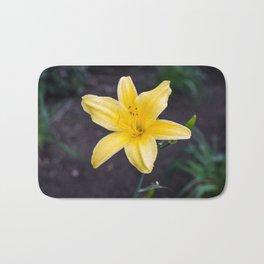 Yellow Lily Bath Mat