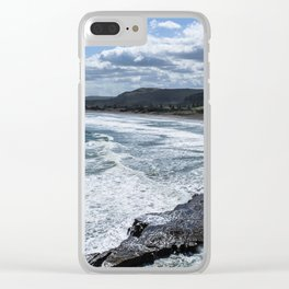 Muriwai Clear iPhone Case