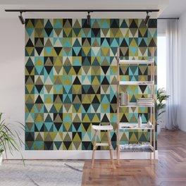 Triangles I Wall Mural