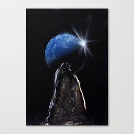 Shadow View Canvas Print