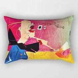 Exploding Soda Can X Rectangular Pillow
