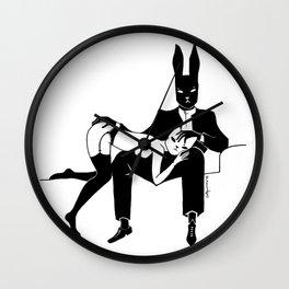 Master and servant Wall Clock