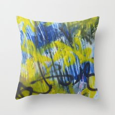 Wall Piece Throw Pillow