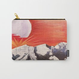 Moon Mountain Carry-All Pouch