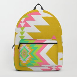 Bohemian shapes Backpack