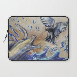 Eel vs. Pigeon Laptop Sleeve