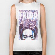 Frida Biker Tank
