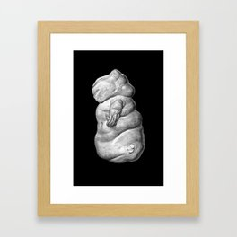 Extraterrestrial Homo Cetus, No.1 Framed Art Print