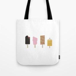 Retro Ice-Creams Tote Bag