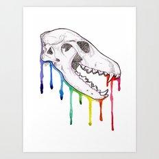 Skull Cand Vixen Art Print