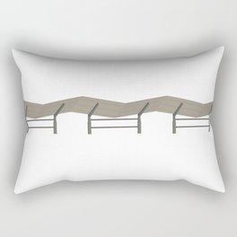 Baseball Stadium Shade Rectangular Pillow