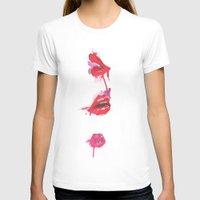lips T-shirts featuring lips by jgart