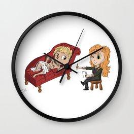 Chibi Clace Wall Clock