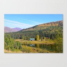 Lake Retreat - Alaska Canvas Print