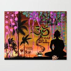 """ZAZEN"" Canvas Print"