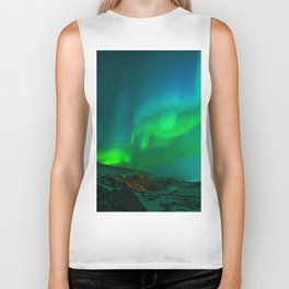 Northern Lights Biker Tank