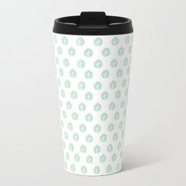 Minty Leaves Metal Travel Mug