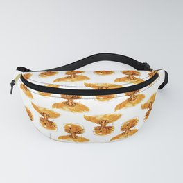 Gold Robot Fanny Pack