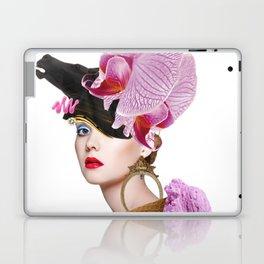 Flower Icecream by Lenka Laskoradova Laptop & iPad Skin