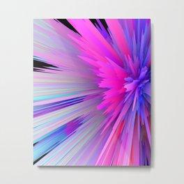 iDeal - Pink Explosion Metal Print