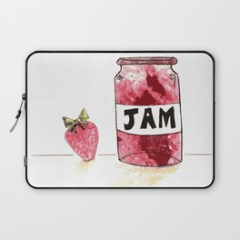 Strawberry VS Jam Laptop Sleeve