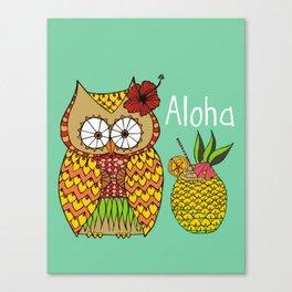 Miss Lu-Owl Canvas Print